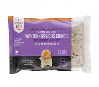 Hong Kong Style Pork & Shrimp Wonton